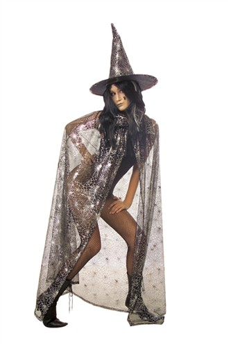 Spider cape tulle Halloween