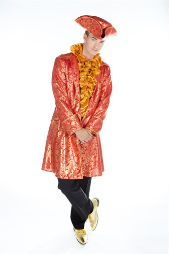 Renaissance Jacket red/gold