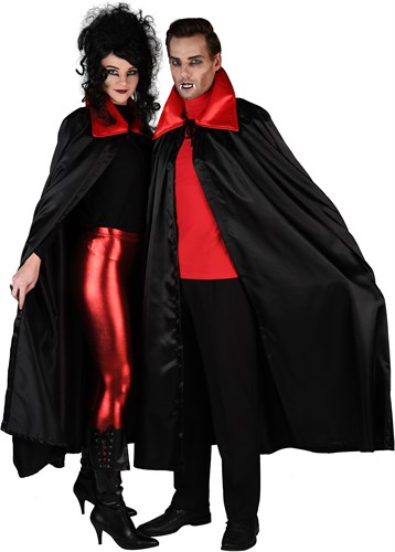 Cape Dracula Halloween satin