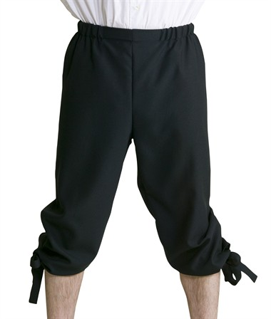 3/4-trousers black
