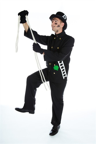 Chimney sweep trousers,jacket  (Texturé)