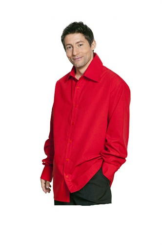 Blouse rood