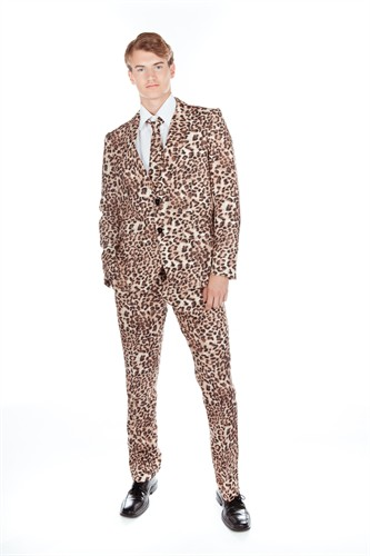 Hose Leopard Slim Fit