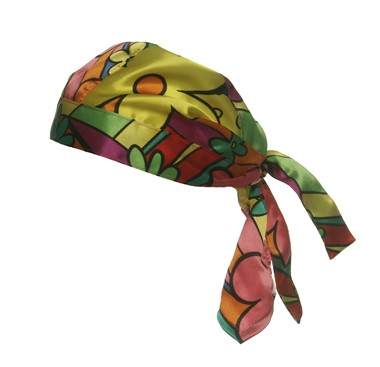 Bandana Flower Power Hippie Luxus