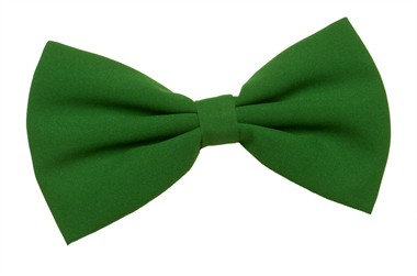 Bow tie lightgreen (18x10 cm)