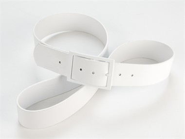 Belt for men white
