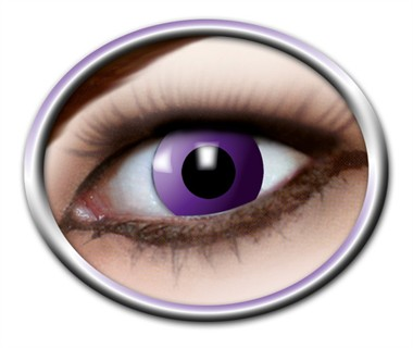 Contact lenses Purple Gothic   (3 months)