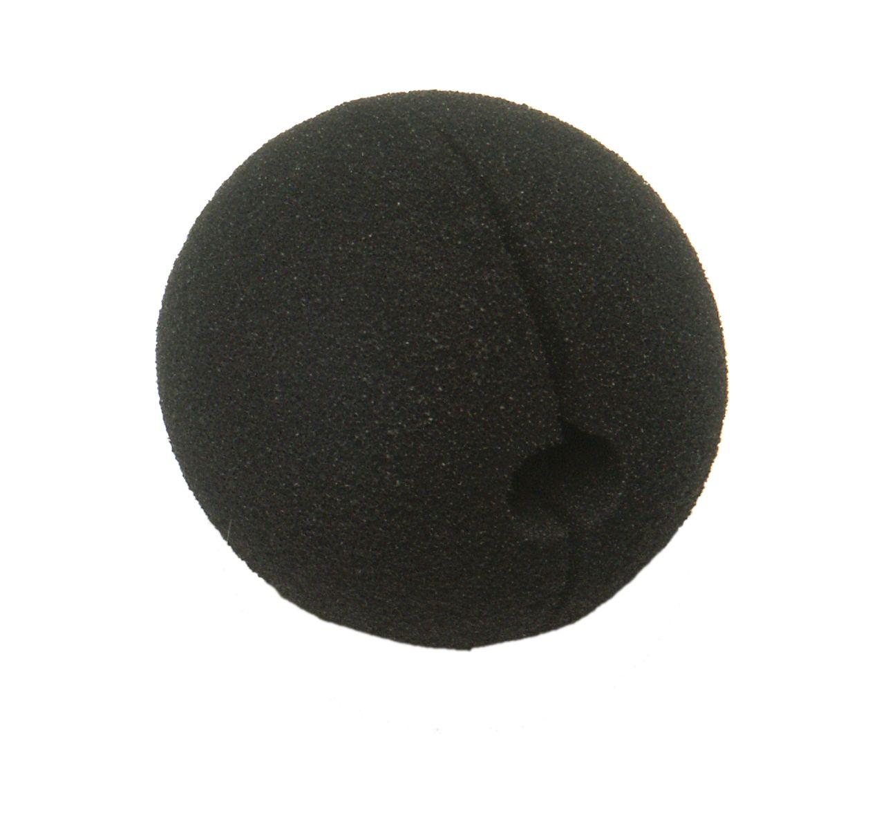 Nose Clown, black foam (Ø=5 cm)