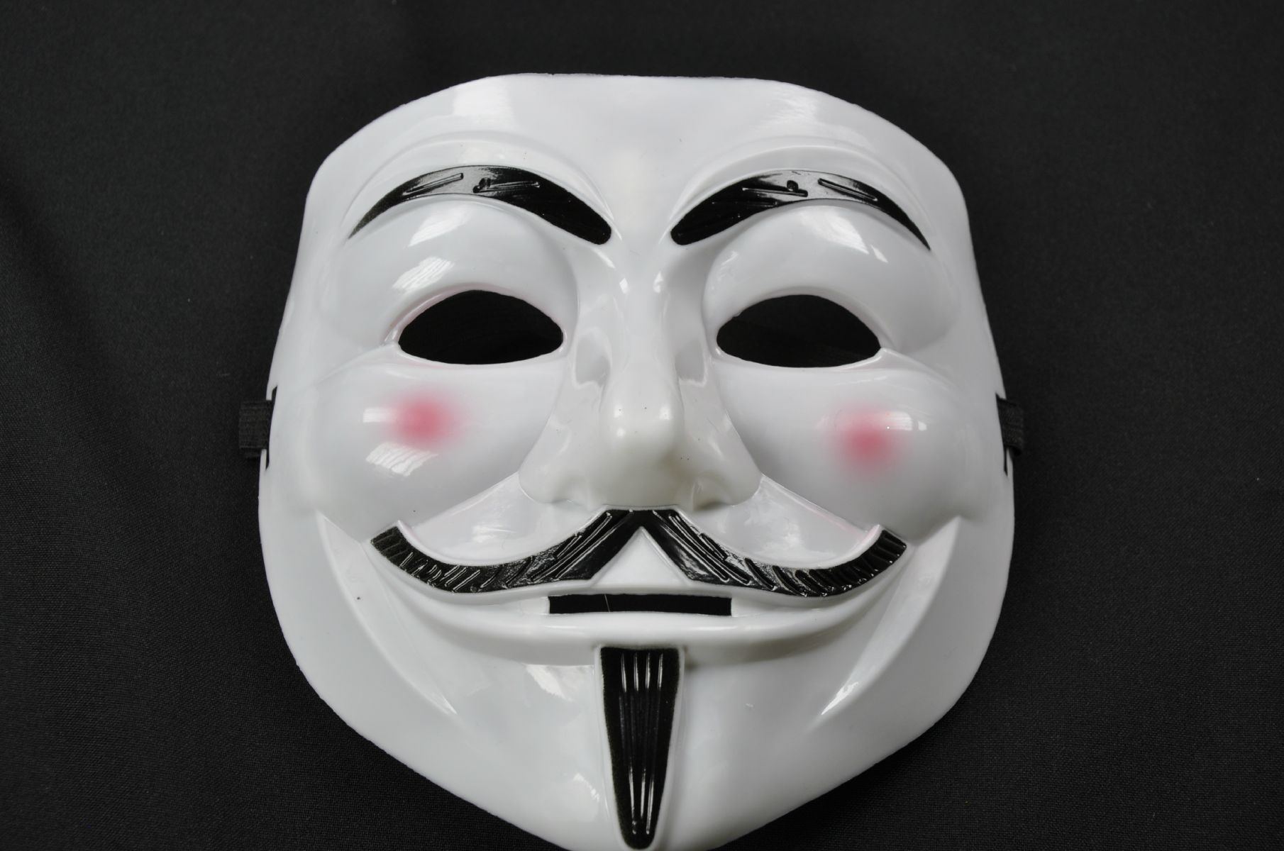 mask white anonymus halloween