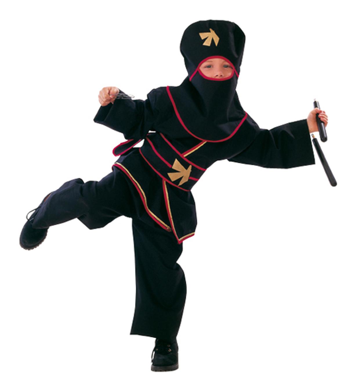 ninja kost m gold star f r kinder bei. Black Bedroom Furniture Sets. Home Design Ideas