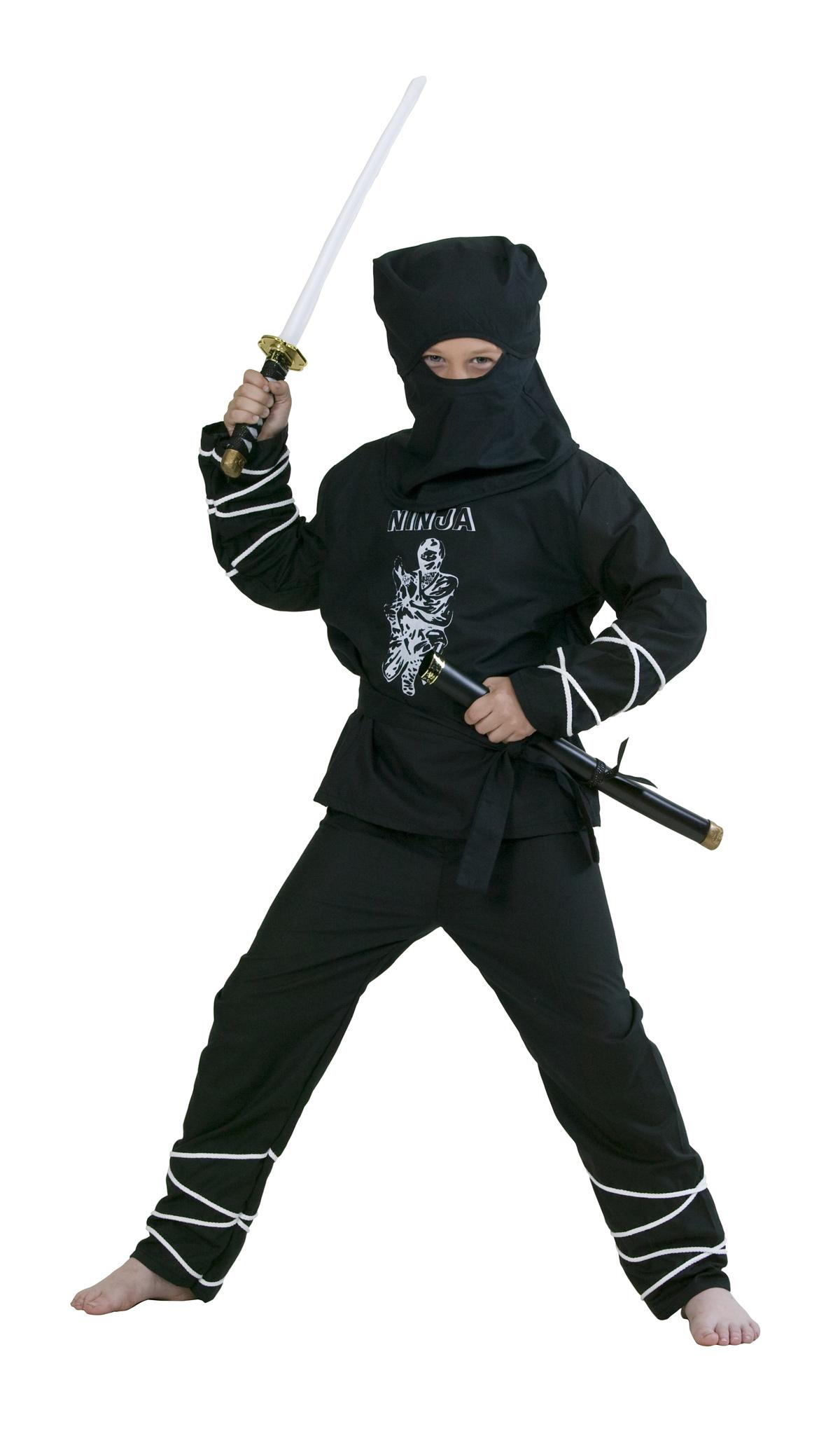Ninja Kostum Fur Kinder Bei Karnevalswierts Com