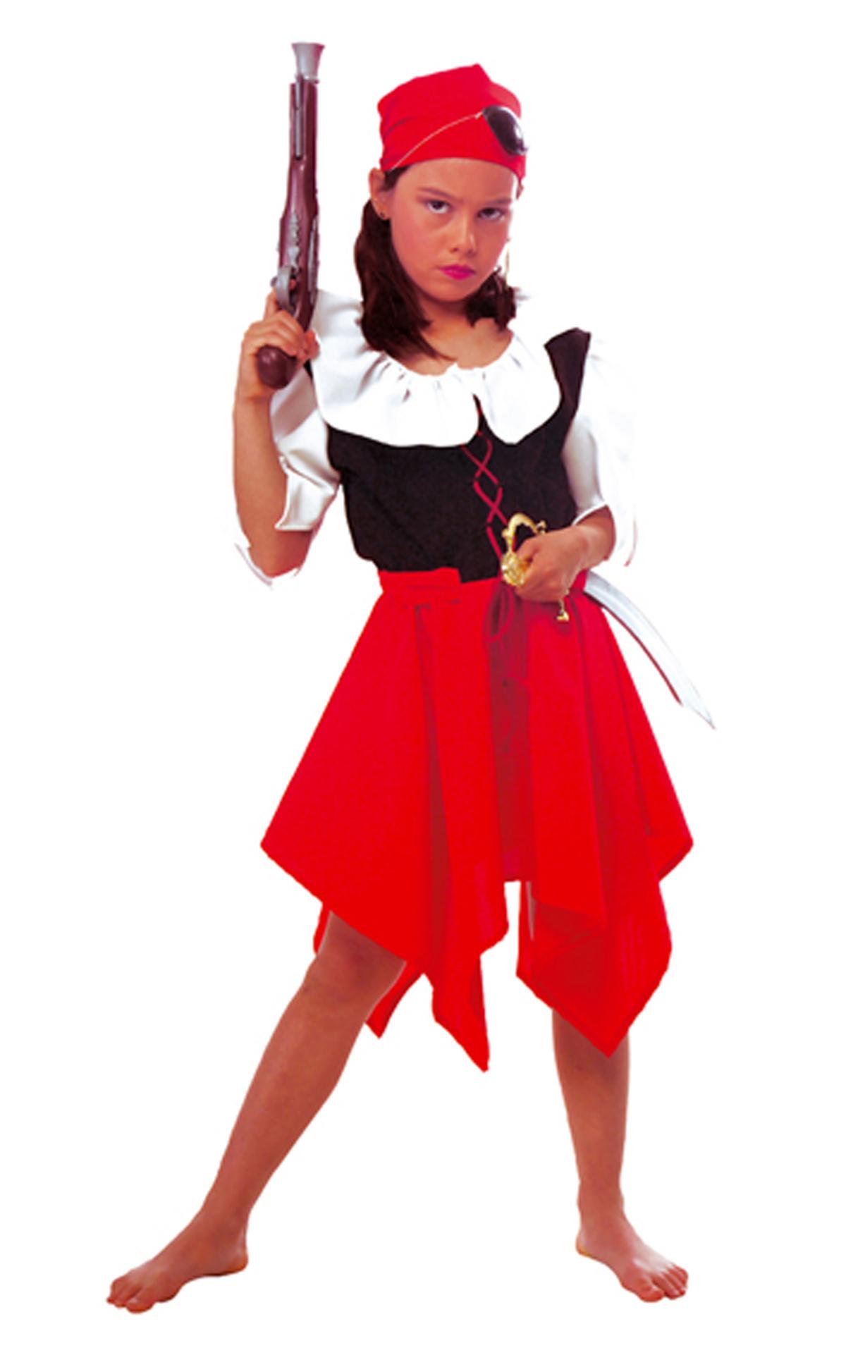 Wonderlijk Piraten Kostuum voor Meisjes bij karnevalswierts.com DA-48