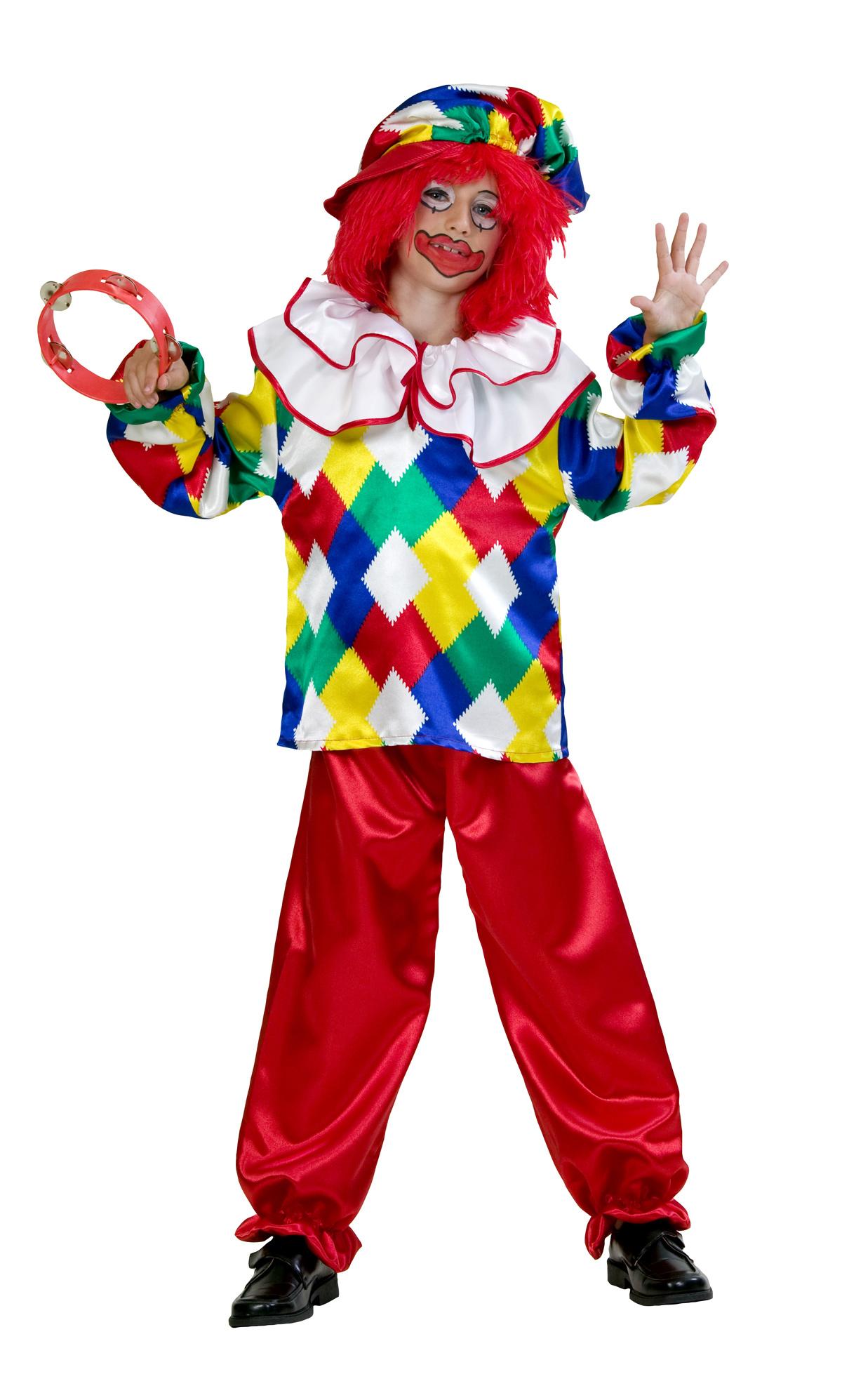 clown peppo 3 tlg f r kinder bei. Black Bedroom Furniture Sets. Home Design Ideas