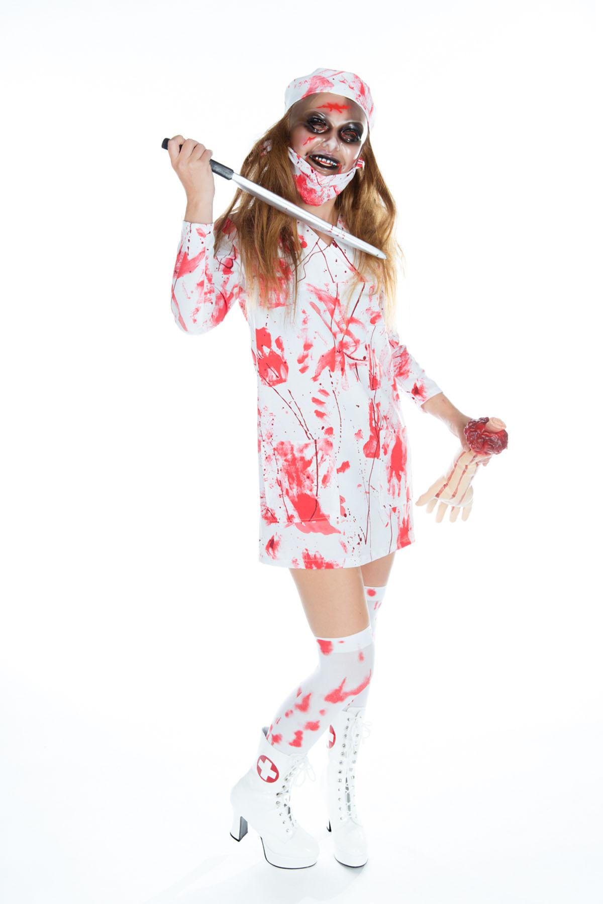Krankenschwester Blutig Halloween Bei Karnevalswierts Com