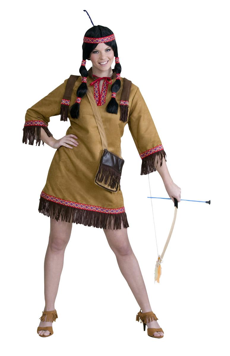 squaw das sch ne indianer kost m bei. Black Bedroom Furniture Sets. Home Design Ideas