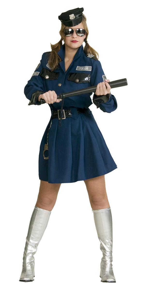 Polizei Uniform Kostum Fur Damen Bei Karnevalswierts Com