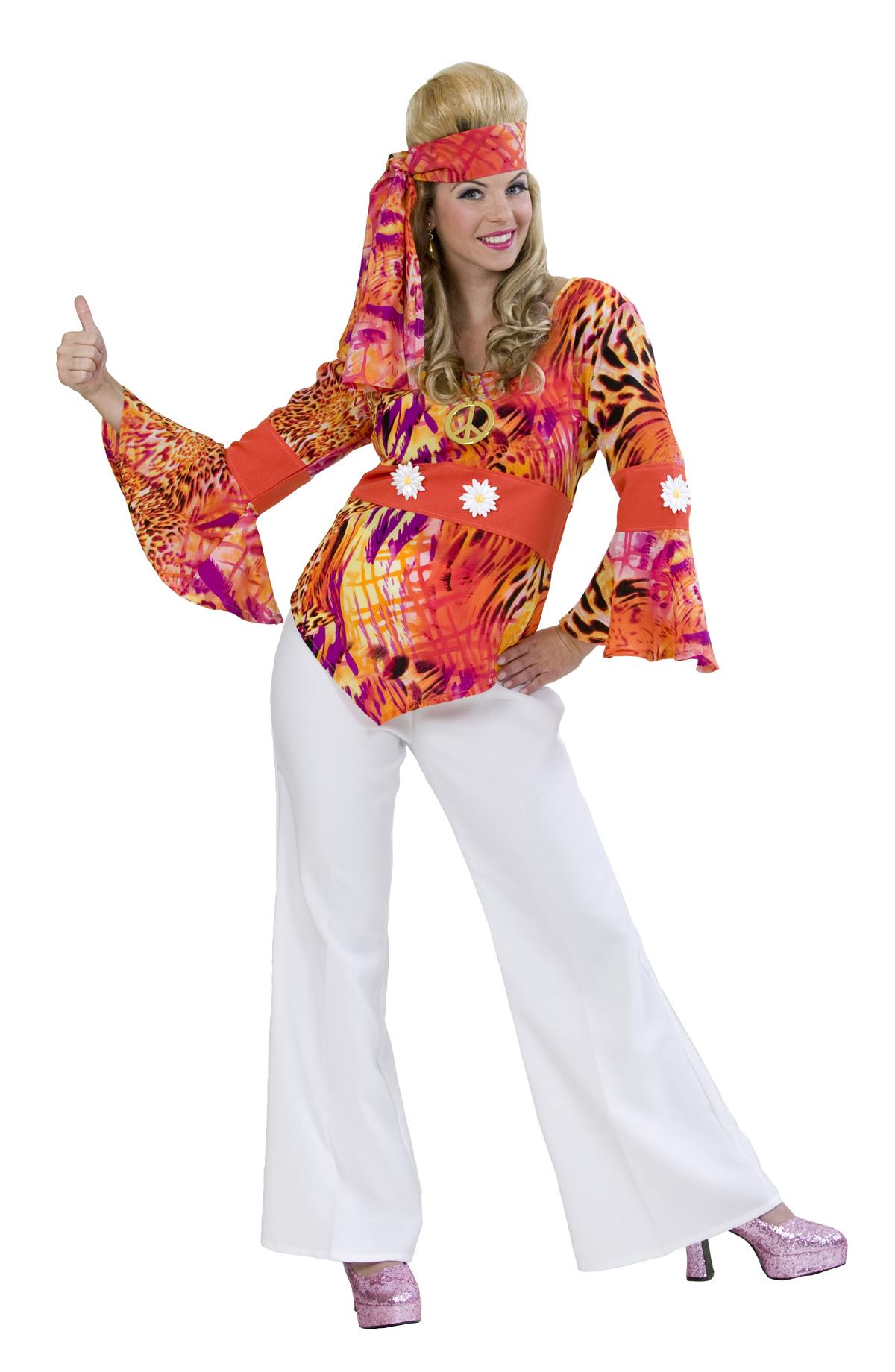 Disco bluse wave die sch ne hippie bluse bei - Hippie bluse damen ...