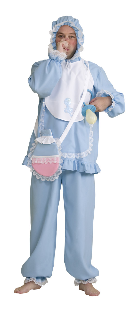 Baby Blau Hosebluse Mit Kapuzelätzchen