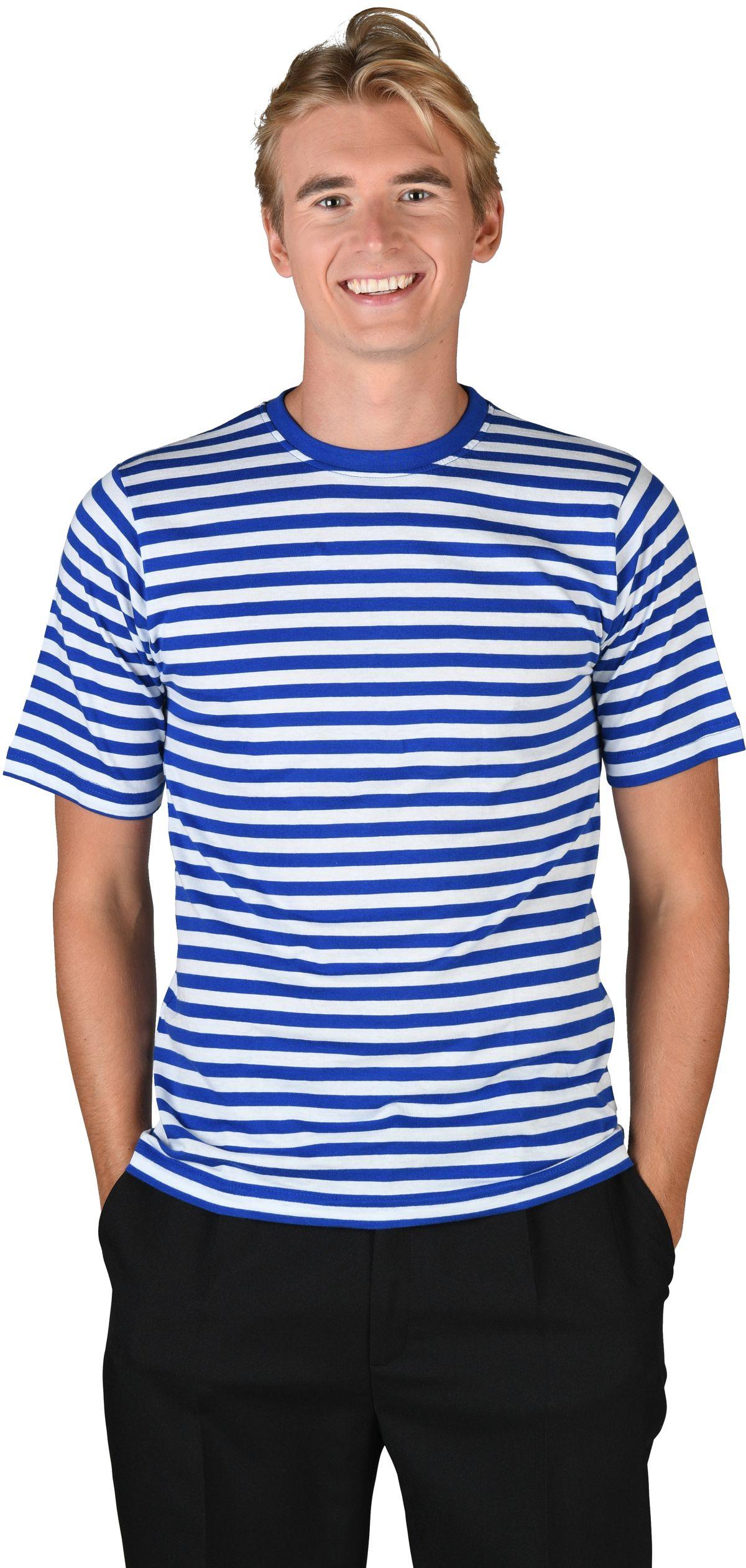 de021bc7982210 Ringelshirt blau weiß Deluxe
